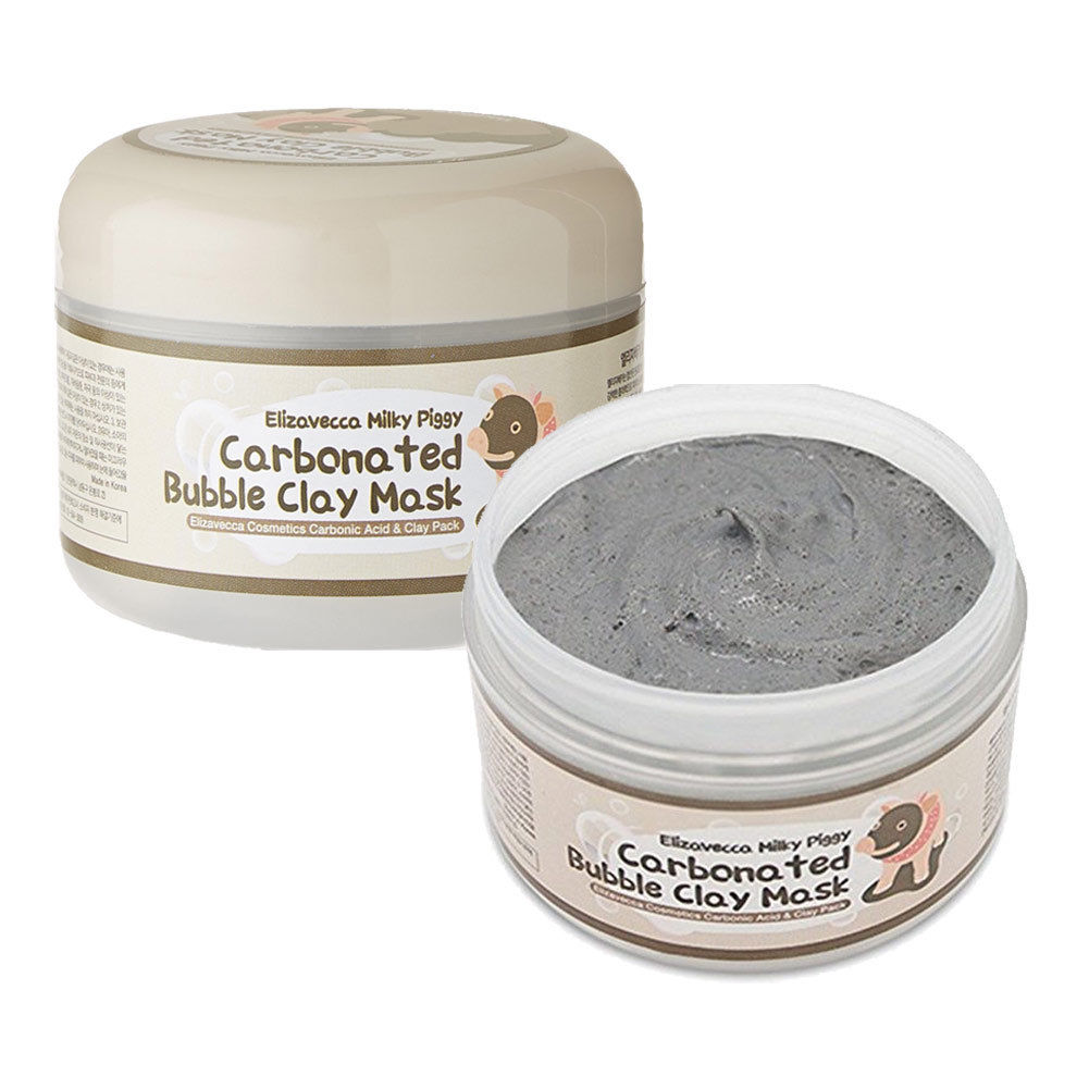 Маска для лица Elizavecca Milky Piggy Carbonated Bubble Clay Mask, 100г